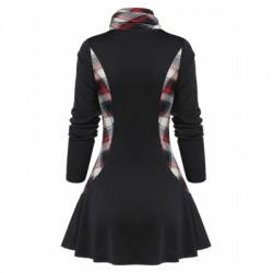 Cowl Collar Coat