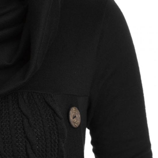 Cowl Neck Cable Knit Knitwear