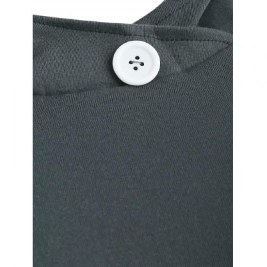 Hooded Long Sleeve Spliced Plaid Hoodie
