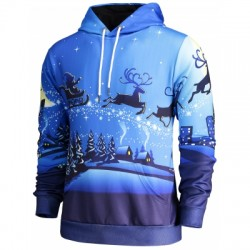 Pocket Front Christmas Hoodie
