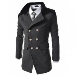 Men\'s Coats Stylish Turn-down Collar Comfort Warm