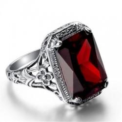 Fashion Vintage Ruby Engagement Ring
